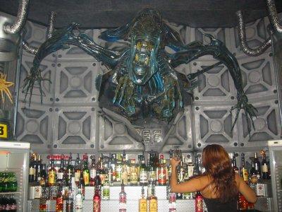 Photo: Alien bar