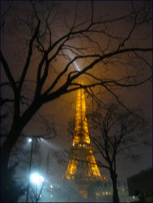 Photo: Eiffel Night