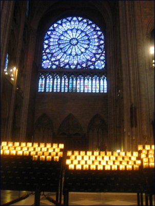 Photo: Notre Dame Rose window