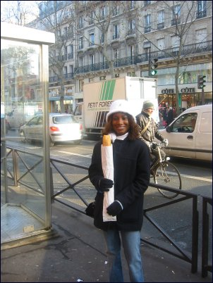 Photo: Sammie Eat Baguette